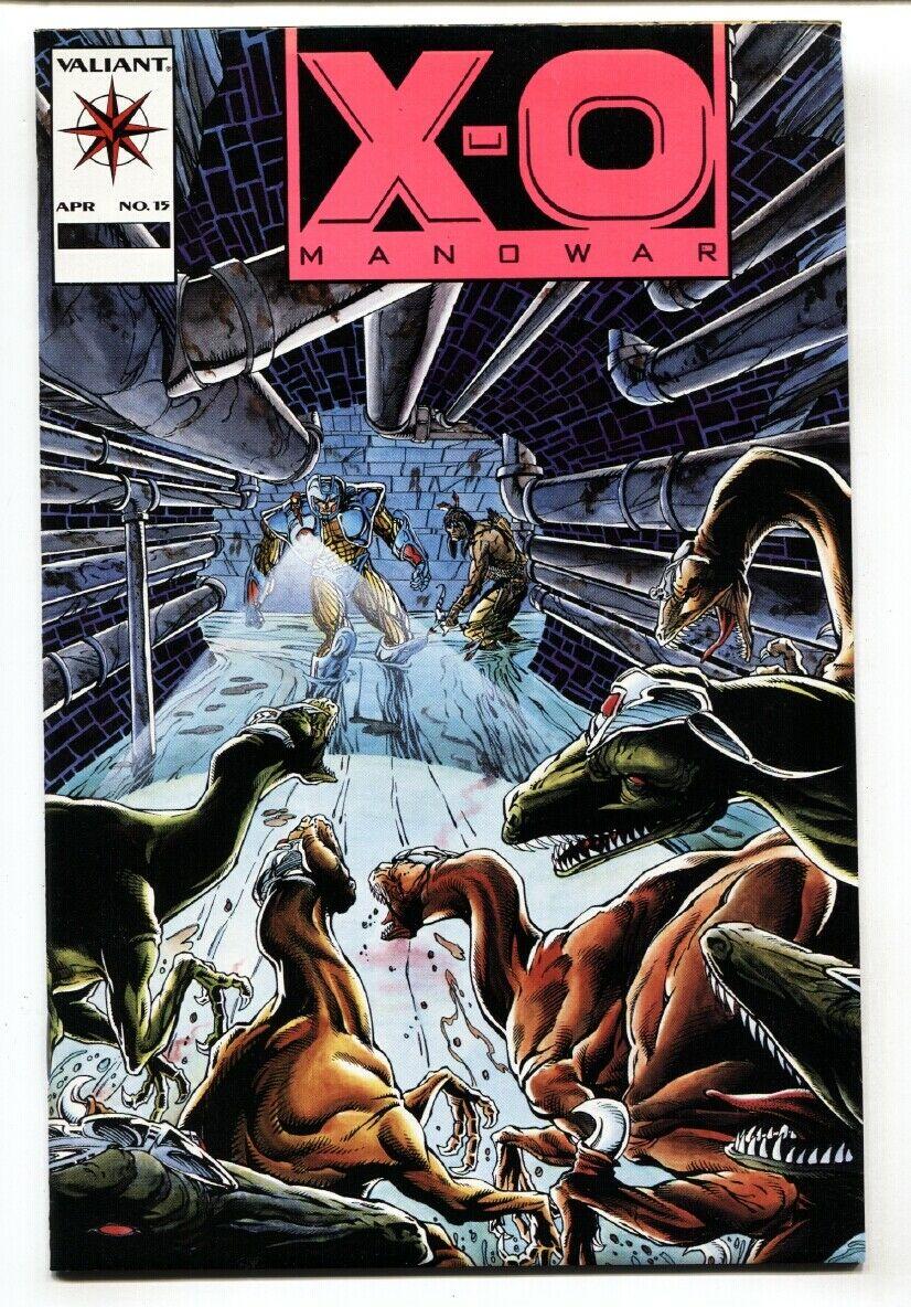 VALIANT COMICS X-O MANOWAR #15