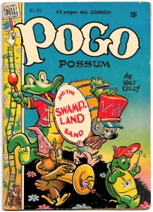 POGO POSSUM #1 (Oct 1949) 6.0 FN  52 Pages of Pure Walt Kelly Genius!!