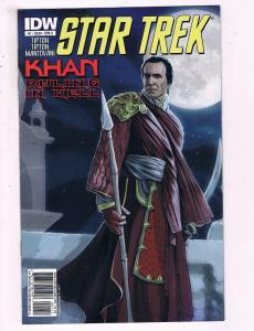 Star Trek #1 VF IDW Khan Ruling In Hell Comic Book DE12