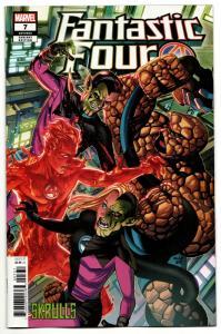 Fantastic Four #7 Mckone Skrulls Variant (Marvel, 2019) NM