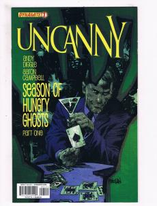 Uncanny # 1 NM 1st Print Variant Cover Dynamite Entertainment Comic Book S70