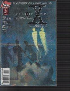 X-Files #1 Ground Zero (Topps, 1997) NM
