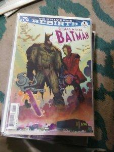 ALL STAR BATMAN # 1  2016 DC UNIVERSE REBIRTH  JOHNNY ROMITA  VARIANT