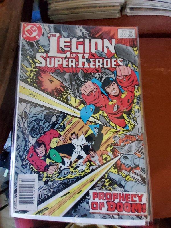 Legion of Super-Heroes  #308