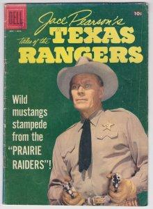 Jace Pearson's Texas Rangers #17 (Nov 1957) 4.0 VG Dell