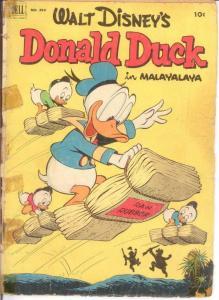 DONALD DUCK F.C. 394 PR-FR June 1952 COMICS BOOK