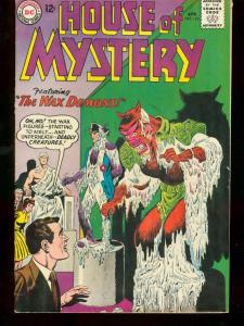 HOUSE OF MYSTERY #142 1964 DC COMICS HOUSE OF WAX VF-