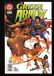 Green Arrow #101 NM- 9.2 Death of Oliver Queen!