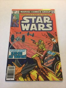 Star Wars 25 Nm Near Mint Newsstand Edition Marvel Comics