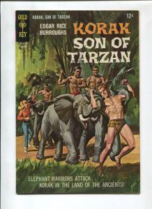 KORAK THE SON OF TARZAN #19 1967-GOLD KEY-VF