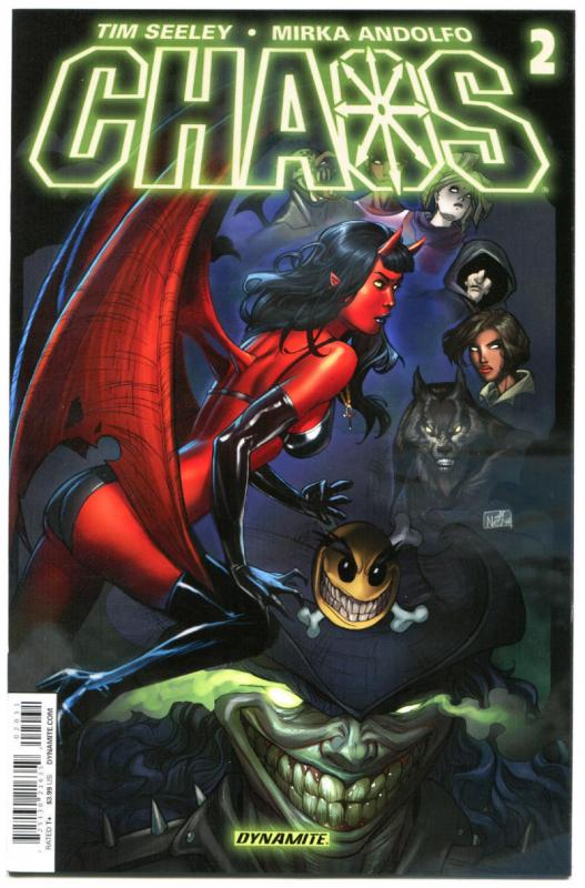 CHAOS #2, NM, Purgatori, Tim Seeley, Evil Ernie, 2014, more indies in store, Nei
