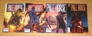 Pale Horse #1-4 VF/NM complete series - B variants - boom western comics 2 3 set