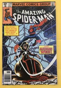Amazing Spider-Man #210 1st appearance of Madame Web