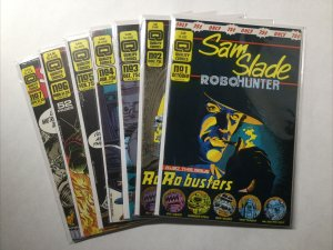 Sam Slade Robo Hunter 1 2 3 4 5 6 7 Lot Run Set Near Mint- Nm- 9.2 Quality Comic