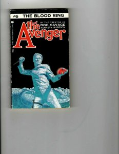 3 Books The Avenger Blood Ring The Invaders Confidential Murder Mystery JK14