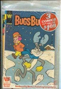 Bugs Bunny Whitman Comics 3 Pack-#227 1981-Bugs Bunny #'s 225, 226 & 227