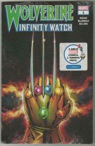 Wolverine Infinity Watch #1 2020 Walmart Exclusive Marvel Comics 3 Pack