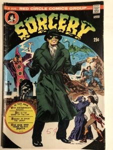 Sorcery 8, VG, morrow cover