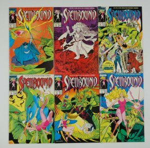 Spellbound #1-6 VF/NM complete series - louise simonson - new mutants set lot