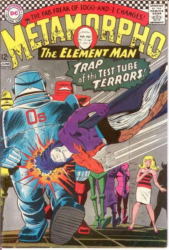 METAMORPHO 12 VG-F June 1967 COMICS BOOK