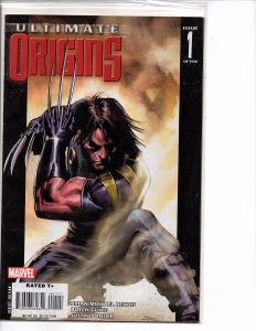Marvel Comics Ultimate Origins #1 Wolverine Spider-Man Hulk Brian Michael Bendis