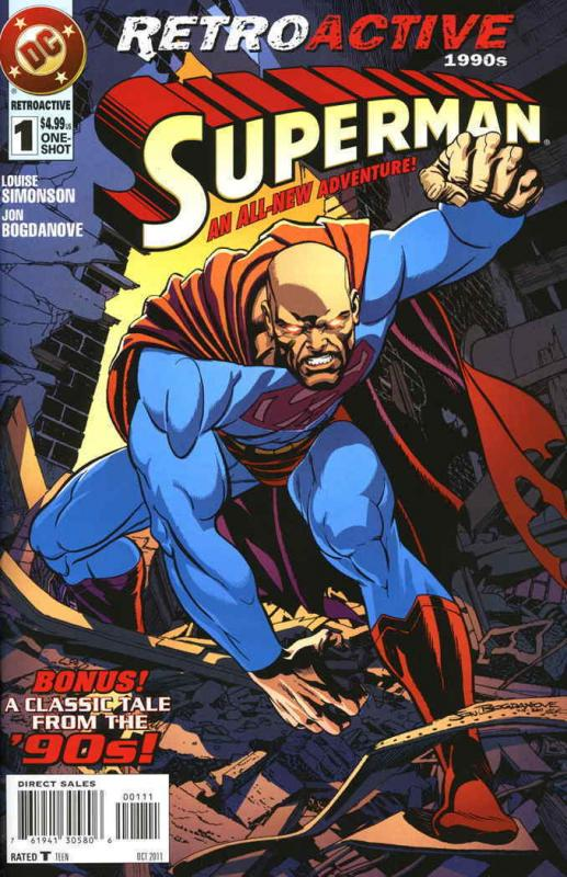 DC Retroactive: Superman—The '90s #1 FN; DC | save on shipping - details inside