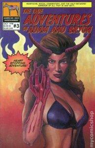 TRUE ADVENTURES OF ADAM & BRYON #3, VF/NM, 1998, more indies in store