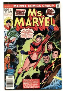 MS. MARVEL #1 Marvel comic book 1st issue 1976 VF