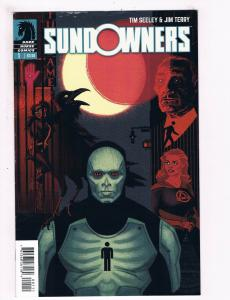 Sundowners # 1 FN/VF 1st Print Dark Horse Comic Book Tim Seeley Jim Terry S63