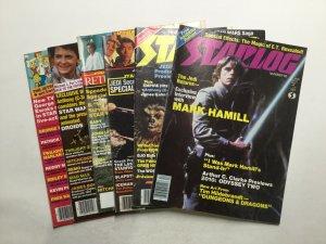 Starlog 65 69 80 93 99 101 Star Wars Magazine Lot Very Good 4.0 Starlog Magazine