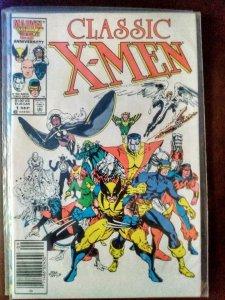 Classic X-Men #1 (1986) 8.0+VF