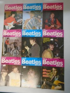 The Beatles Book Monthly magazine lot 9 different issues (1984-86)