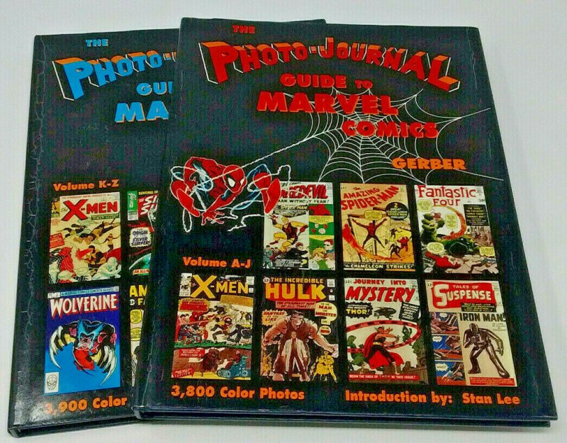 Photo-Journal Guide to Marvel Comics HC Vol 3 & 4