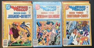 Wonder Woman Vol.1 #293-295 (1940 DC)