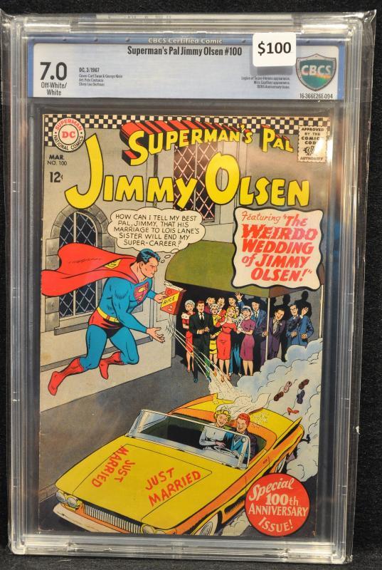 Jimmy Olsen #100 - CBCS 7.0