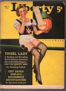 Liberty 11/27/1935-Halloween-George Larkin-Ray Cummings-Jackson Gregory-G-