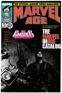 Marvel Age #72 Punisher (Marvel, 1989) NM-