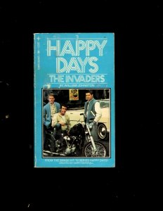 3 Pocket Books Happy Days The Invaders, Get Smart Once Again, The Fonz JL6