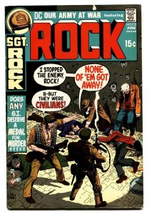 OUR ARMY AT WAR #233 1971-DC-SGT ROCK'S joe kubert -vf