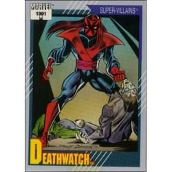 1991 Impel Marvel Universe: Series 2 DEATHWATCH #80