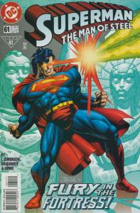 Superman: The Man of Steel #61 VF/NM; DC | save on shipping - details inside