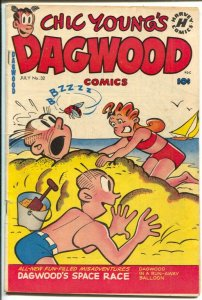 Dagwood #32 1953-Harvey-Chic Young-Blondie-Popeye-Little King-puzzle page-Dag...