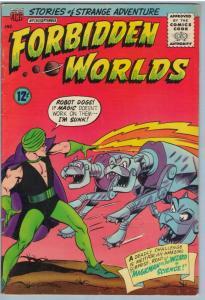 Forbidden Worlds 130 Sep 1965 VG-FI (5.0)