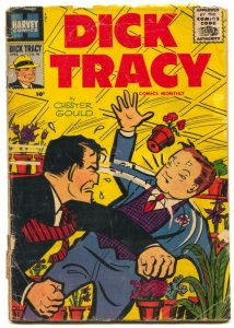 Dick Tracy #98 1956- Chester Gould low grade