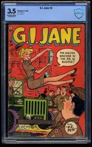 G.I. Jane #9 CBCS VG- 3.5 Off White to White