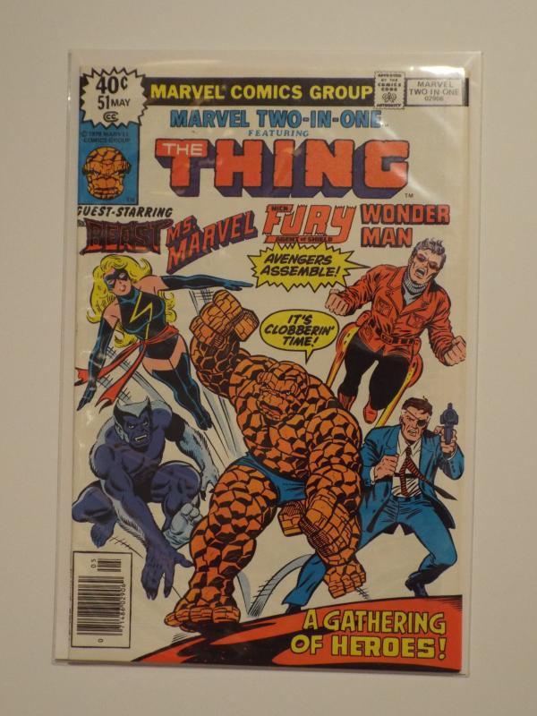 Marvel Two-In-One #51, (1979), VF/NM