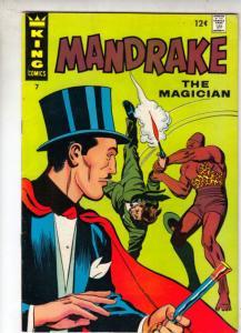 Mandrake the Magician #7 (Aug-67) VF/NM High-Grade Mandrake the Magician