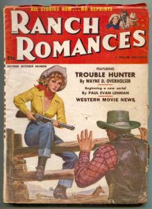 Ranch Romances Pulp 2nd October 1952- Trouble Hunter G