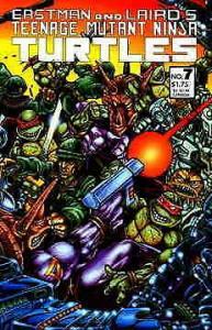 Teenage Mutant Ninja Turtles (1st Series) #7 VF; Mirage | save on shipping - det