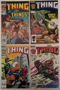 The Thing Lot #5, #14, #16 & #17 (1983 series)